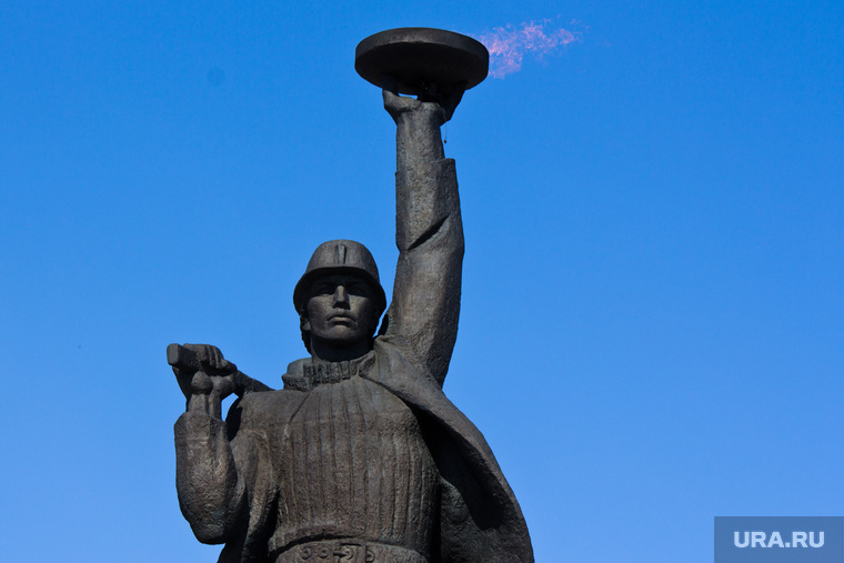 "Памятник ""Покорителям Самотлора"". Алеша. Нижневартовск"