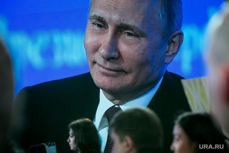 12 ежегодная итоговая пресс-конференция Путина В.В. Москва, улыбка и внимание, доброта, путин владимир