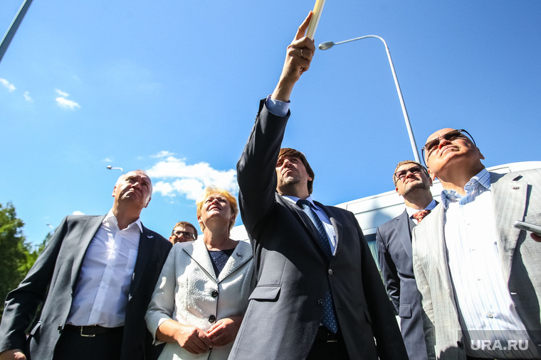 Приезд представителей центрального аппарата ОНФ и экскурсия по объектам инфраструктуры города. Тюмень