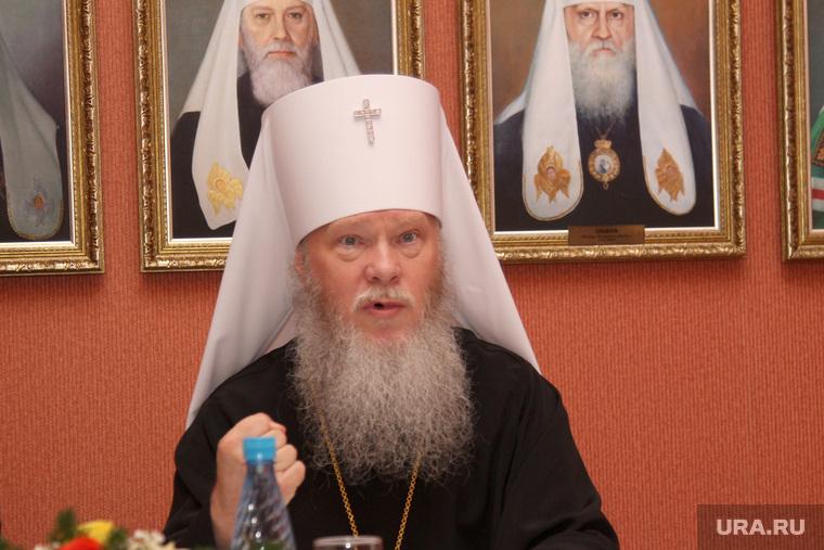 Пресс-конференция Владыки Иосифа. Курган, митрополит иосиф