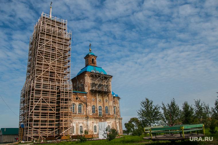 Спасо - Преображенский храм в селе Батурино, спасо-преображенский храм, село батурино, ремонт церкви