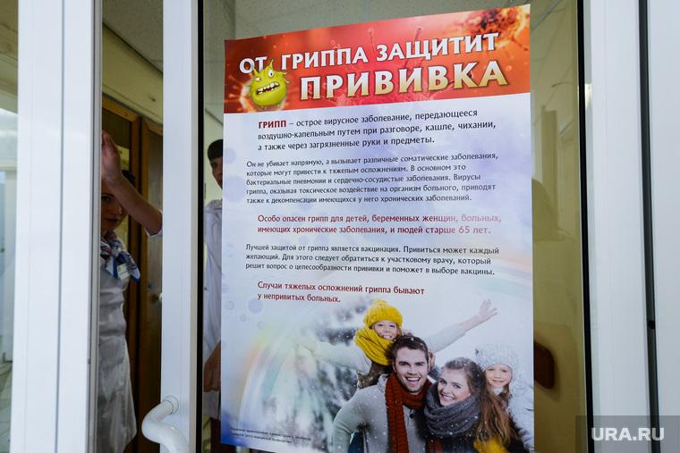 Вакцинация от гриппа. Челябинск, поликлиника, врачи, профилактика гриппа, от гриппа защищает прививка