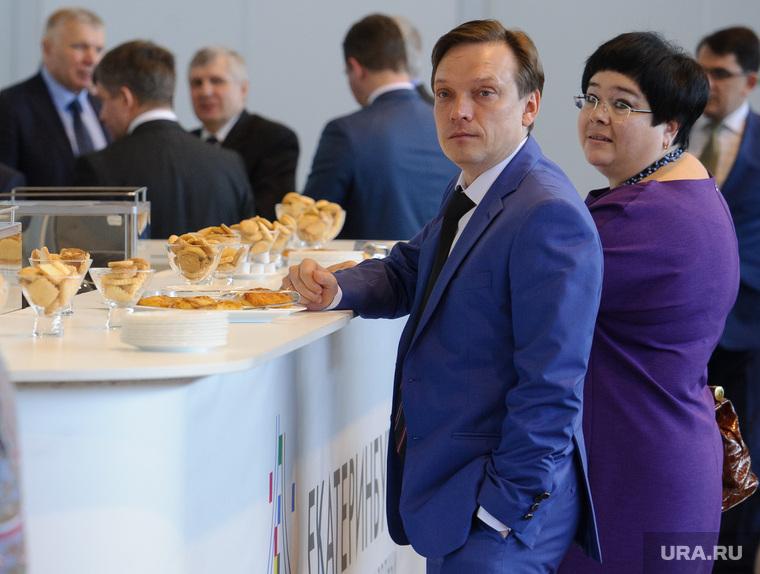 Совещание губернатора Свердловской области Евгения Куйвашева с главами муниципалитетов. Екатеринбург
