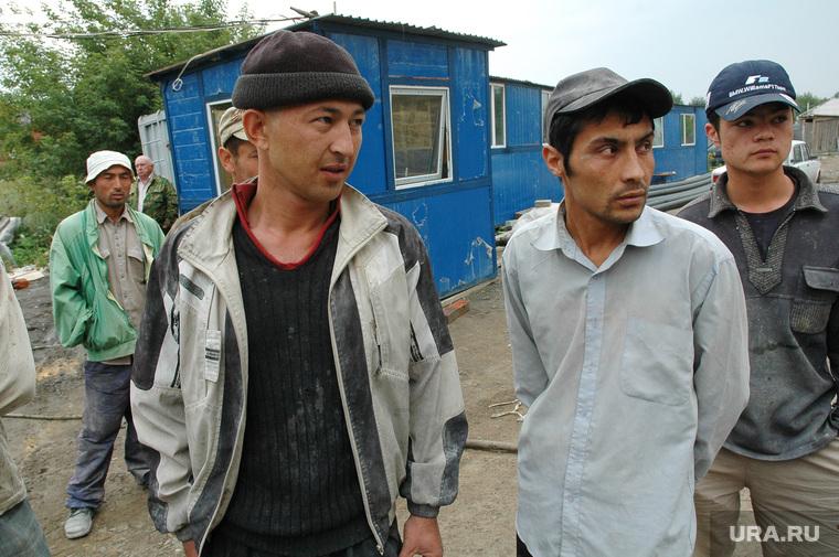 Гастарбайтеры. УФМС. Мигранты. Челябинск., мигранты, гастарбайтеры
