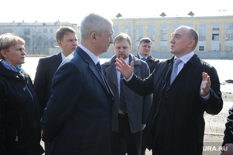 Борис Дубровский посетил озерский городской округ.  Озерск, похлебаев михаил, дубровский борис