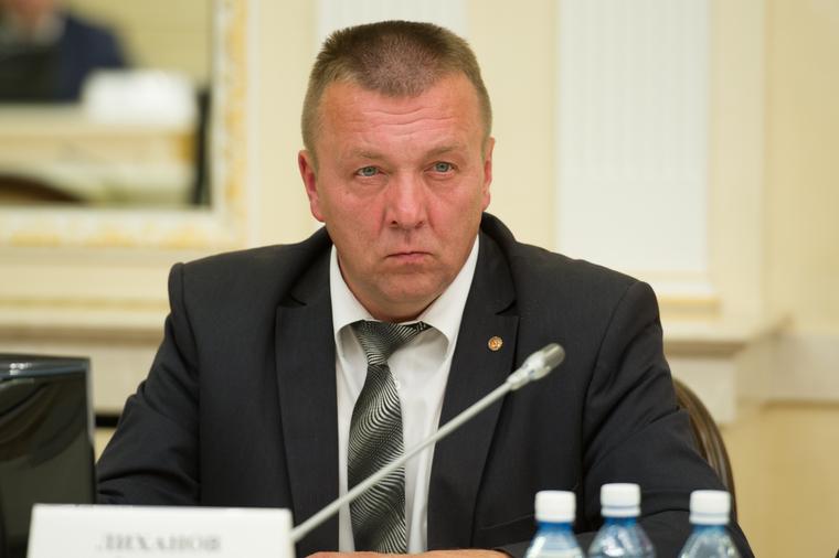 Заседание в резиденции губернатора Свердловской области по итогам единого дня голосования. Екатеринбург, лиханов алексей