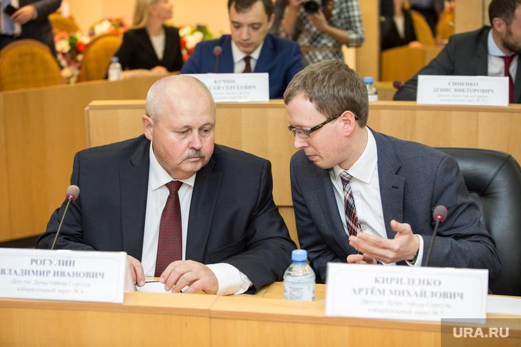 Первое заседание думы 6 созыва. Сургут, Кириленко Артем, рогулин владимир