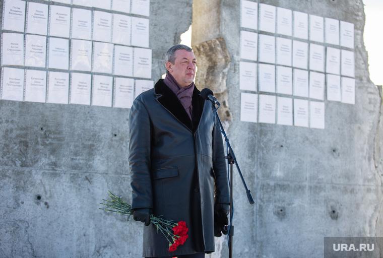 Митинг посвященный Дню памяти жертв политических репрессий. Сургут, пелевин александр, памятник жертвам политических репрессии