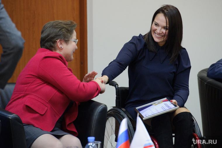Конференция ОНФ. Екатеринбург, фечина лариса, немец анастасия