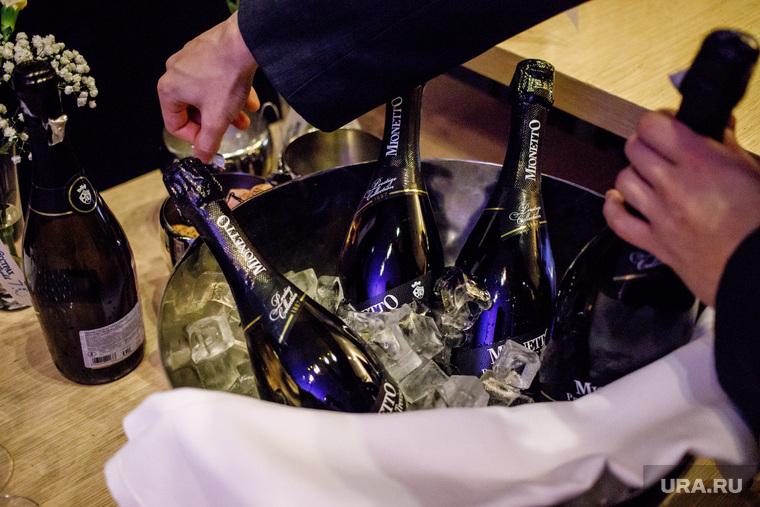 Ежегодный благотворительный аукцион «Екатерининская ассамблея». Екатеринбург, шампанское, просеко