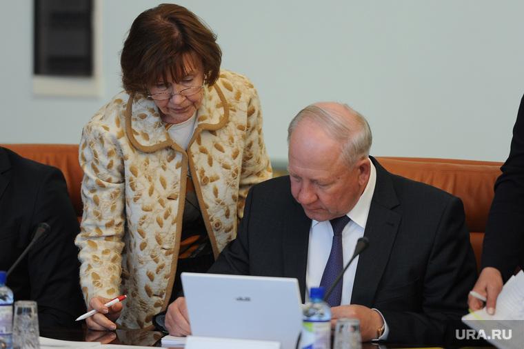 Заседание правительства Челябинской области. Челябинск, климов олег, Гладкова ирина