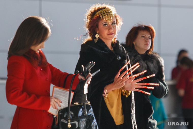 Стильные люди на чемпионате по парикмахерскому искусству. Екатеринбург, маникюр, нейларт