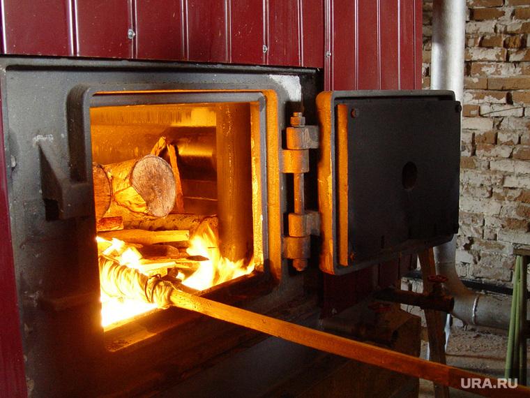 Комиссия по охране труда Правительство области Курган 20.11.2013г, печь, огонь в печи, котельная