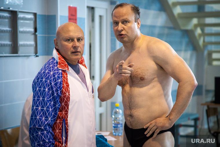 Депутаты ЗССО и министр Рапопорт сдают нормы ГТО. Екатеринбург, шептий виктор