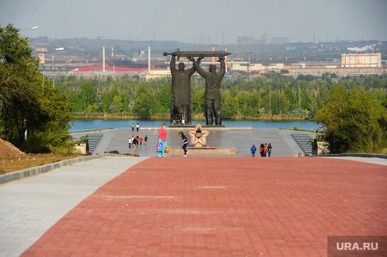 Клипарт. Магнитогорск. Челябинск., памятник, мемориал