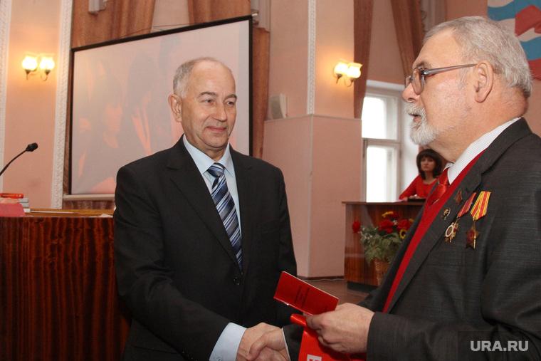 Отчетно выборная конференция КПРФ Курган, кислицын василий