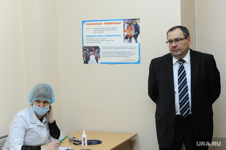 Редин на прививке. Челябинск., кремлев сергей