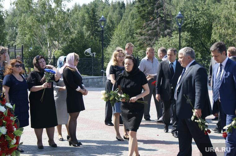 Отпевание Виталия Ермошина. Ханты-Мансийск