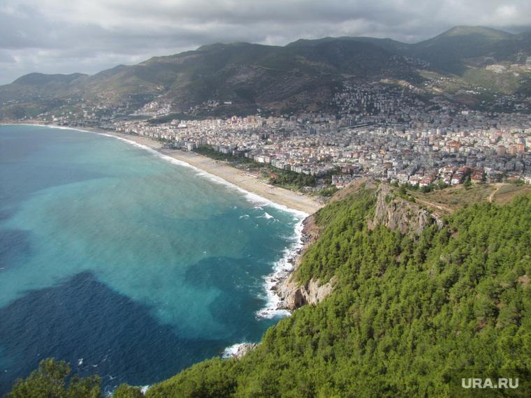 Турция, море, горы, морское побережье