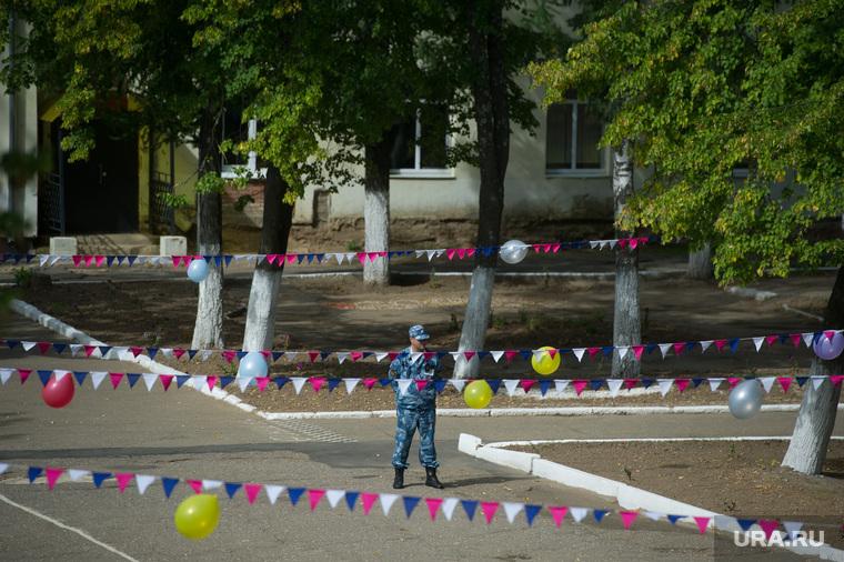 Посещение министром Открытого правительства М.Абызовым Можайской исправительной колонии. Можайск