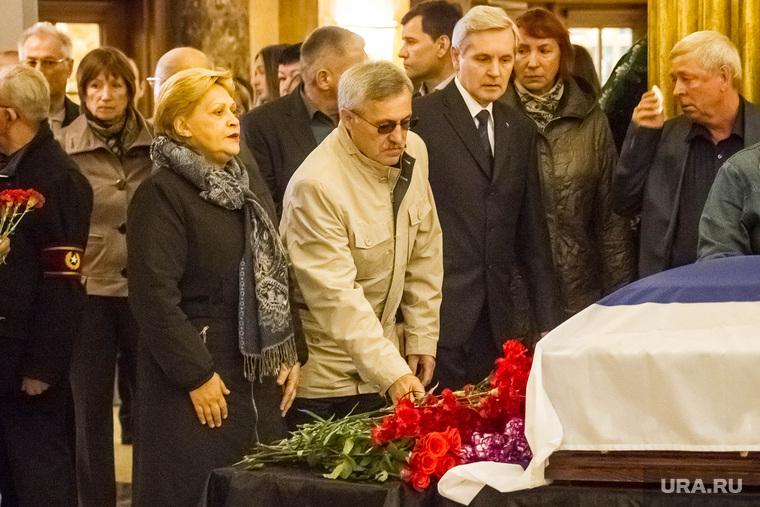 Похороны депутата областной думы Владимира Завьялова. Тюмень