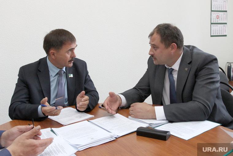 Депутатские комиссии в гордуме  Курган, галиаскаров наркис, руденко сергей