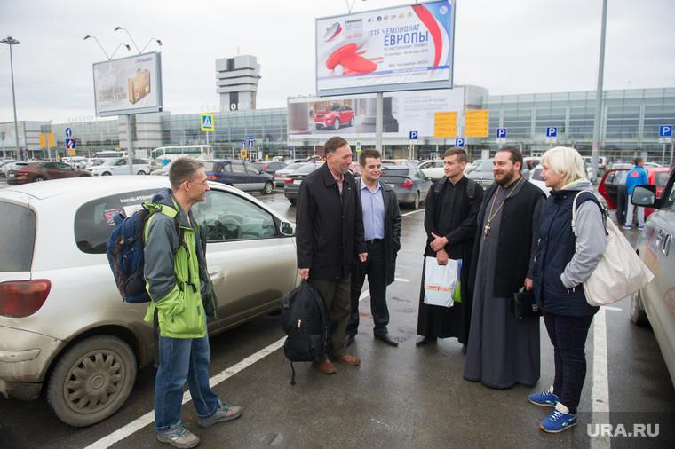 Прибытие Светланы Гизай в Екатеринбург