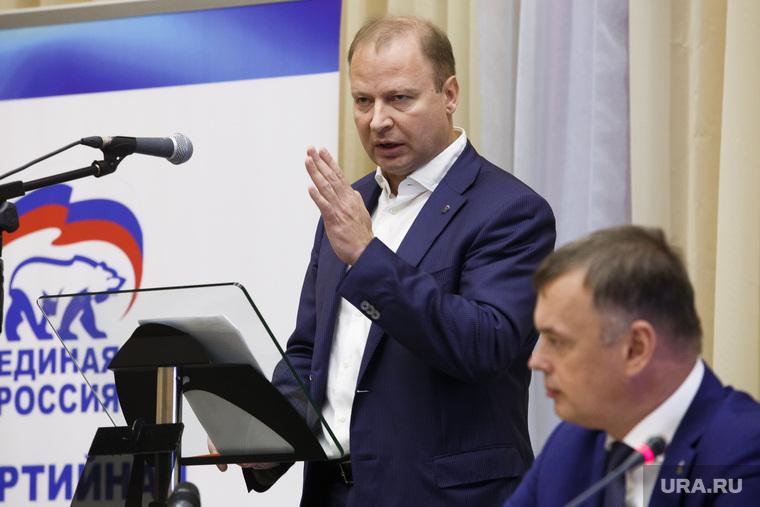 Партийная сессия Единой России в Первоуральске, шептий виктор
