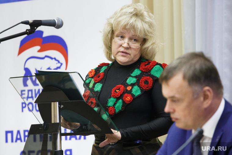 Партийная сессия Единой России в Первоуральске
