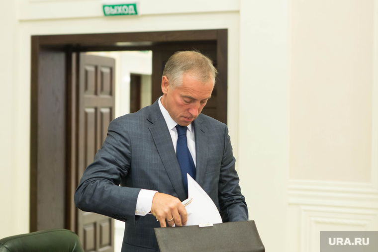Заседание по реформе МСУ при полпреде УрФО Игоре Холманских. Екатеринбург