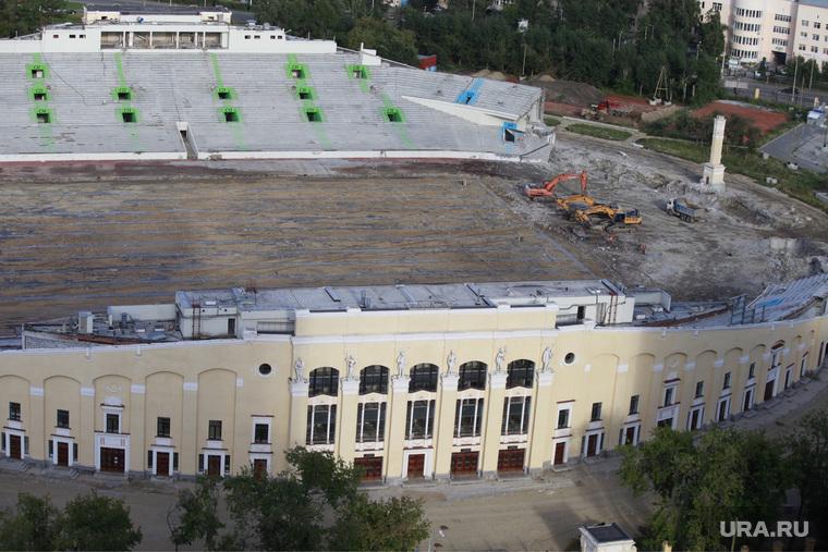 Центральный стадион. Реконструкция. Екатеринбург, центральный стадион