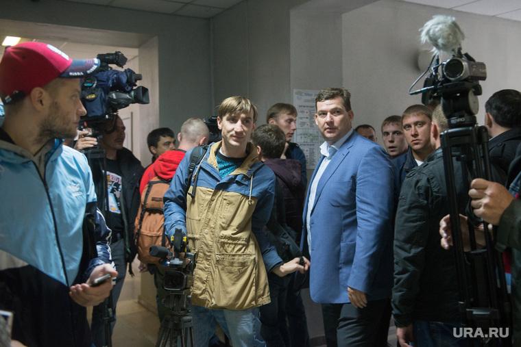 Суд над полицейскими ОВД Заречный в Ленинском районном суде. Екатеринбург