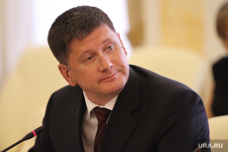 Заседание правительства области с главами муниципалитетов, писцов евгений