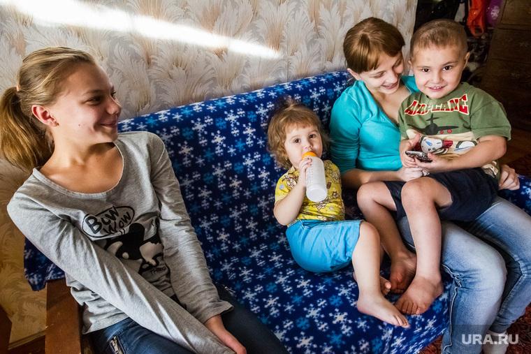 Многодетная семья Белозерова-Литвиненко. Тюмень