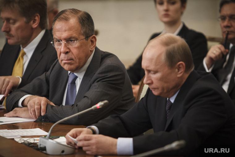 Саммит Россия-ЕС. Приезд гостей и пленарное заседание, путин владимир, лавров сергей