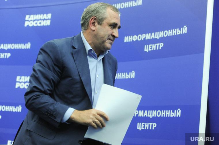 Подведение предварительных итогов выборов с участием руководства партии
