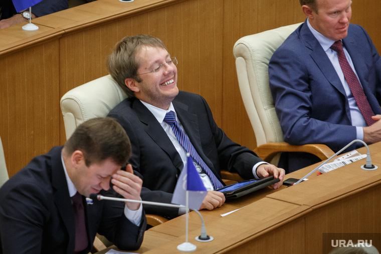Заседание законодательного собрание Свердловской области. Екатеринбург, ковпак лев, улыбка, веселье, семеновых сергей, смех