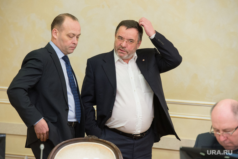 Встреча губернатора с победителями выборов в гордуму Режа. Екатеринбург, пересторонин сергей, белоглазов владимир