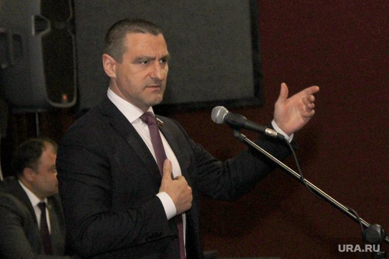 Встреча с избирателямиКурган, ильтяков александр