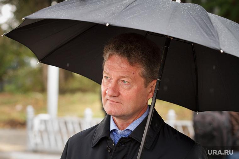 Открытие Успенского путепровода. Верхняя Пышма, козицын андрей, зонт, дождь