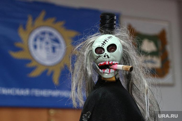 Акция против куренияКурган, акция против курения