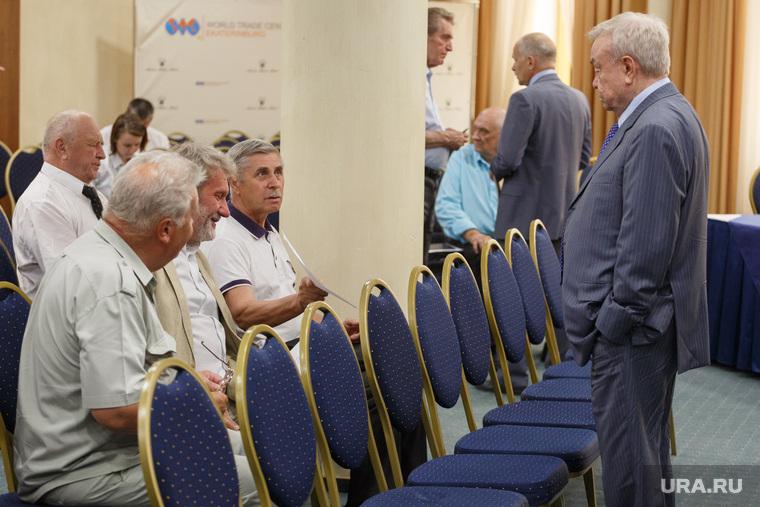 Заседание союза промышленников и предпринимателей. Екатеринбург