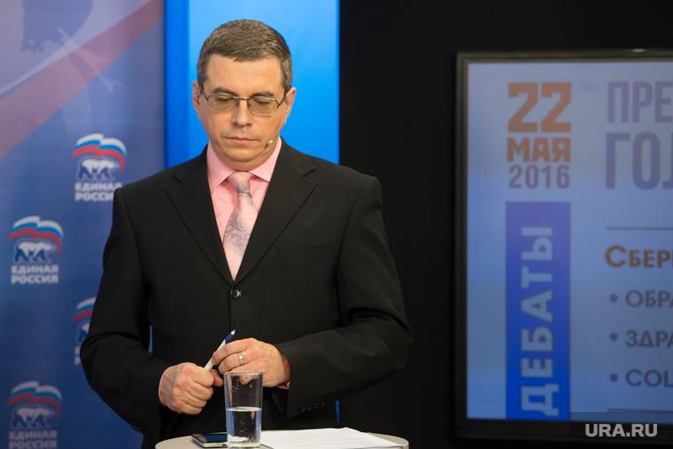 Дебаты кандидатов на праймериз ЕР в Со. Екатеринбург, енин евгений