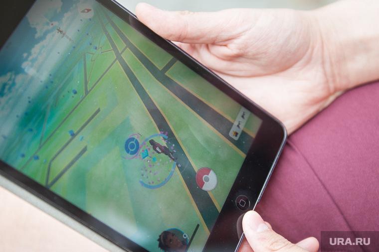 Pokemon GO. Екатеринбург, планшет, игра, pokemon go, покемоны