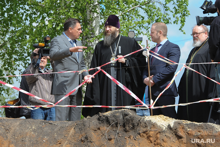 Заливка фундамента храма. Челябинск., иванов олег, никодим, мотовилов александр