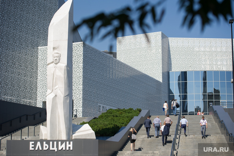 Заседание правительства СО и администрации Екатеринбурга в Ельцин Центре, памятник, ельцин центр