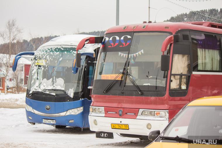 Разное. Ханты-Мансийск., автовокзал, автобус