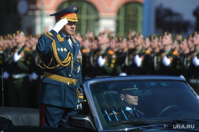 Генеральная репетиция парада на Красной площади. Москва, шойгу сергей