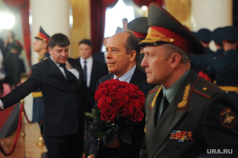 Прощание с Евгением Примаковым. Москва, бортников