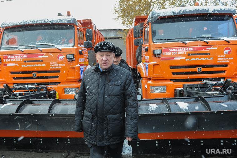 Совещание по снегоуборочной технике Южуралмост Тефтелев Челябинск, снегоуборочная техника, тефтелев евгений, южуралмост